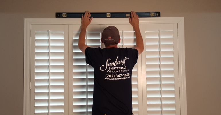 San Antonio plantation shutter measurement